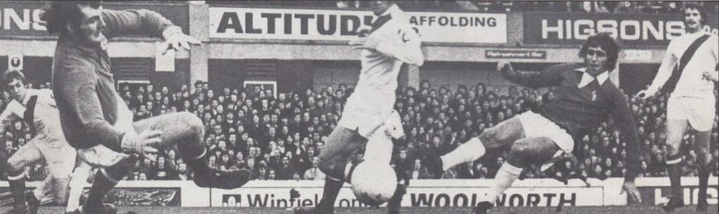 everton away 1972 to 73 belfit goal