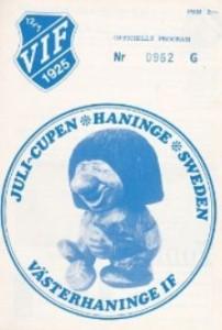 hammarby 1972 to 73 prog