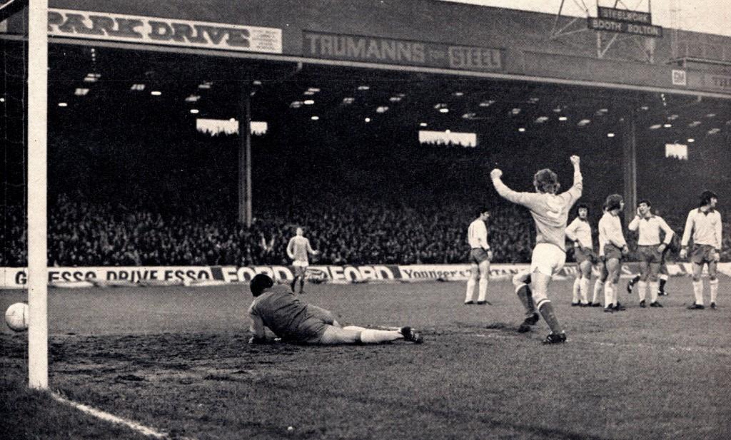 ipswich home 1972 to 73 lee goal