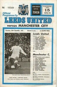 leeds away 1972 to 73 prog