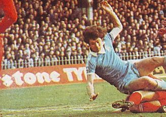 leicester home 1976 to 77 kidd 1st goal