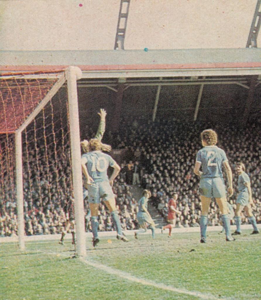 liverpool away 1976 to 77 corrigan save 1