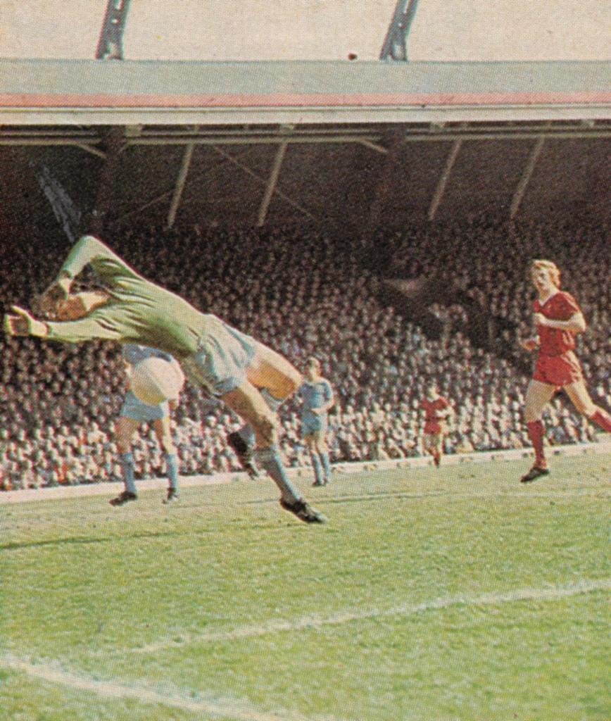 liverpool away 1976 to 77 corrigan save 2