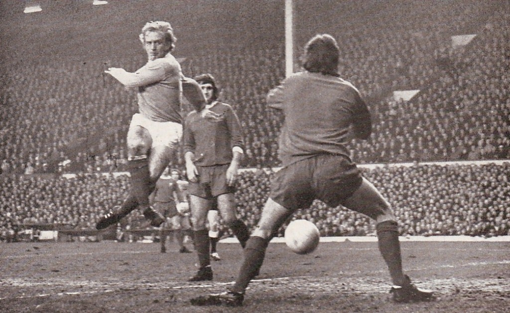 liverpool away fa cup 1972 to 73 action