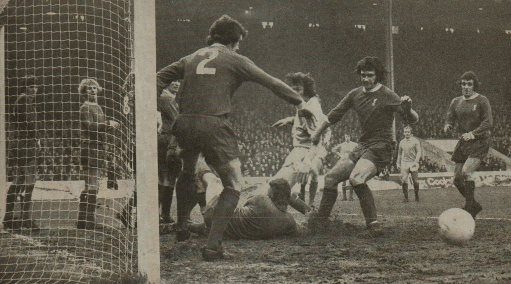 liverpool home 1972 to 73 action