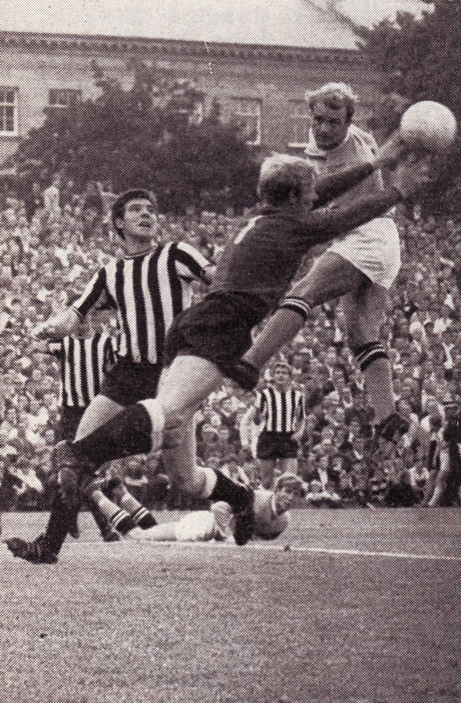 newcastle away 1969-70 action