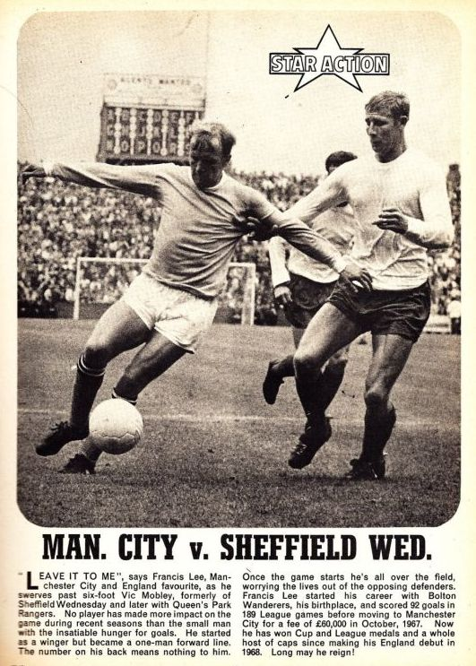sheff weds home 1969 to 70 rotr annual 1971