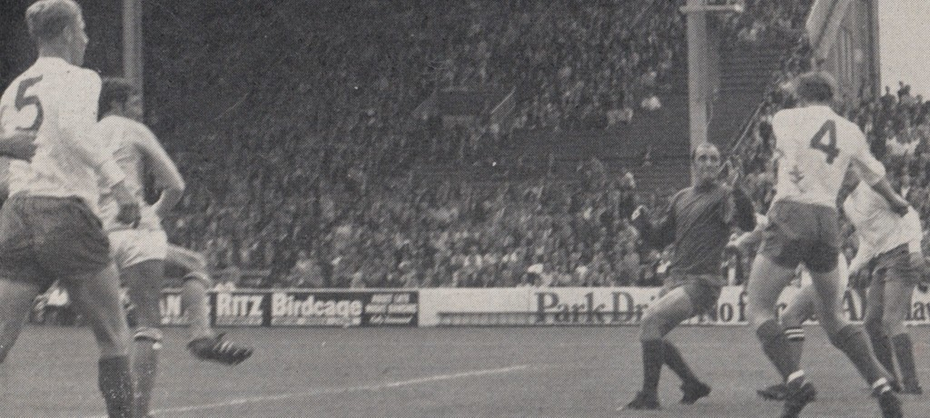 sheffield weds home 1969 to 70 one of youngs goals