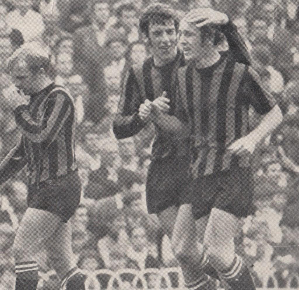 tottenham away 1969 to 70 bowyer goal