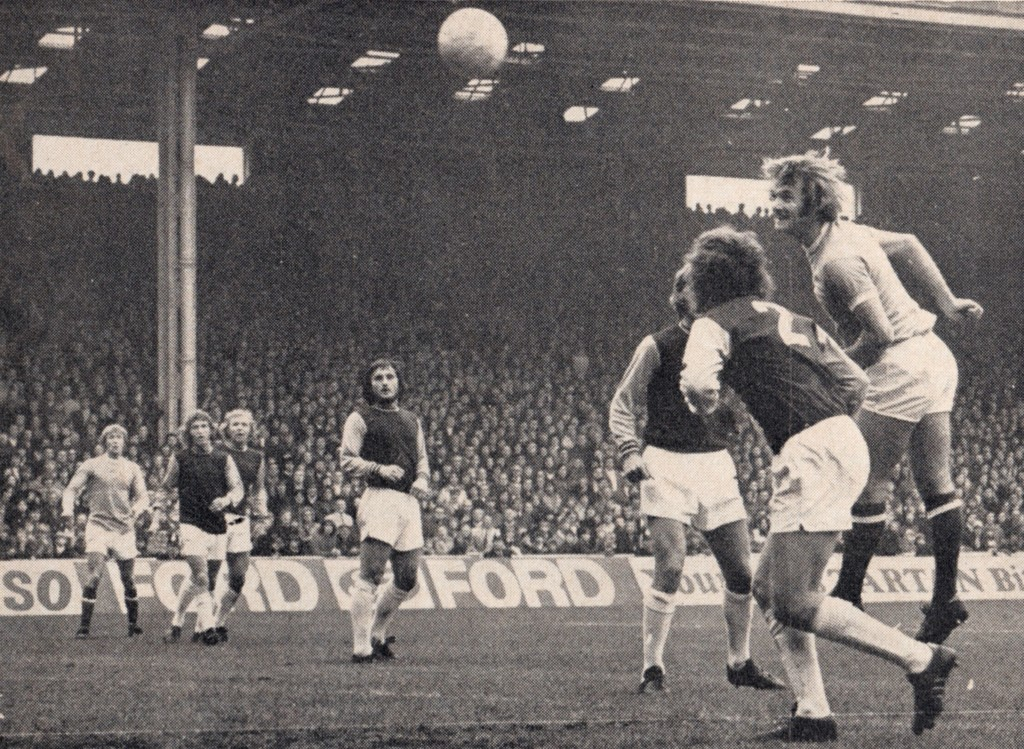 west ham home 1972 to 73 1st marsh goal 2-0