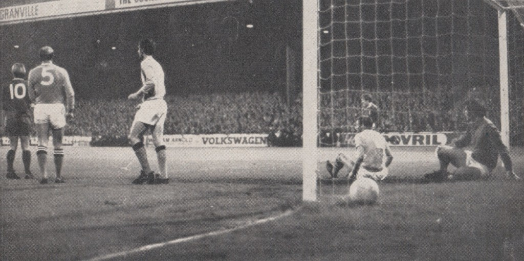 liverpool league cup 1969 to 70 evans liverpool 1st goal