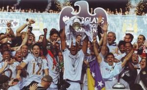 qpr home 2011 to 12 trophy aloft wider shota