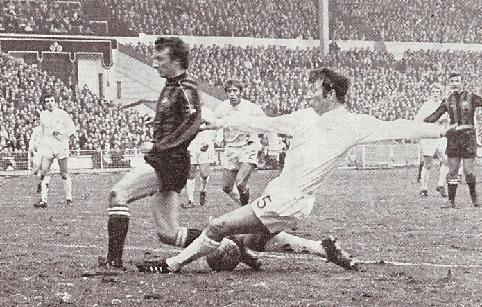 wba league cup final 1969 to 70 action2