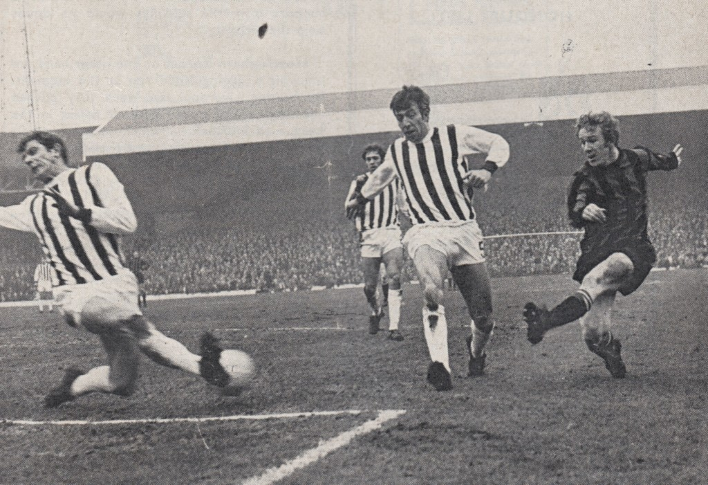 west brom away 1969 to 70 action