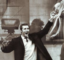 Allison with FA Cup 1969