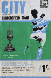 huddersfield home league cup 1968 to 69 prog
