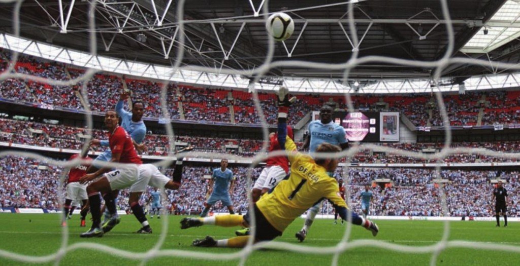 man united charity shield 2011 to 2012 lescott goal