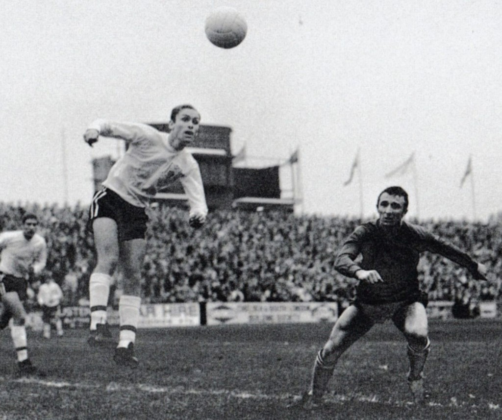 fulham away 1967 to 68 action6