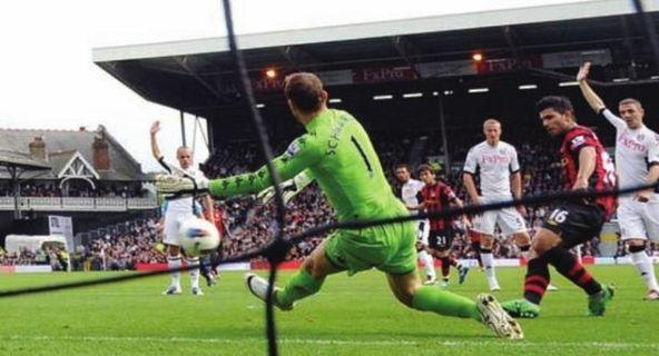 fulham away 2011 to 12 kun 1st goal2