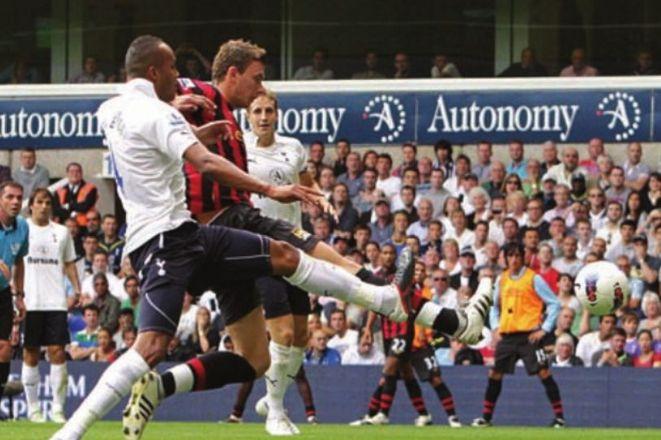 tottenham away 2011 to 12 dzeko 1st goal