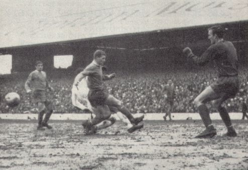 cardiff away fa cup 1966-67 action 2