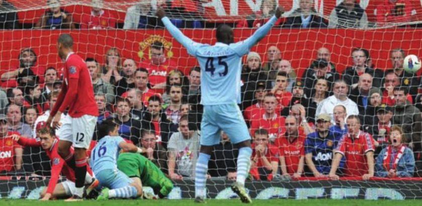 man utd away 2011 to 12 aguero goal 3-0