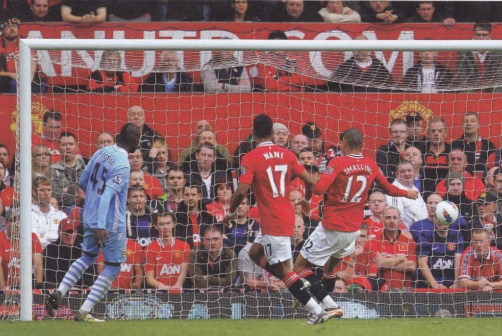 man utd away 2011 to 12 balotelli goal 41