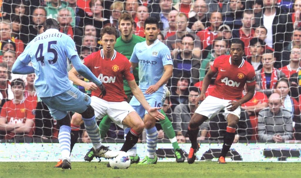 man utd away 2011 to 12 balotelli goal 42