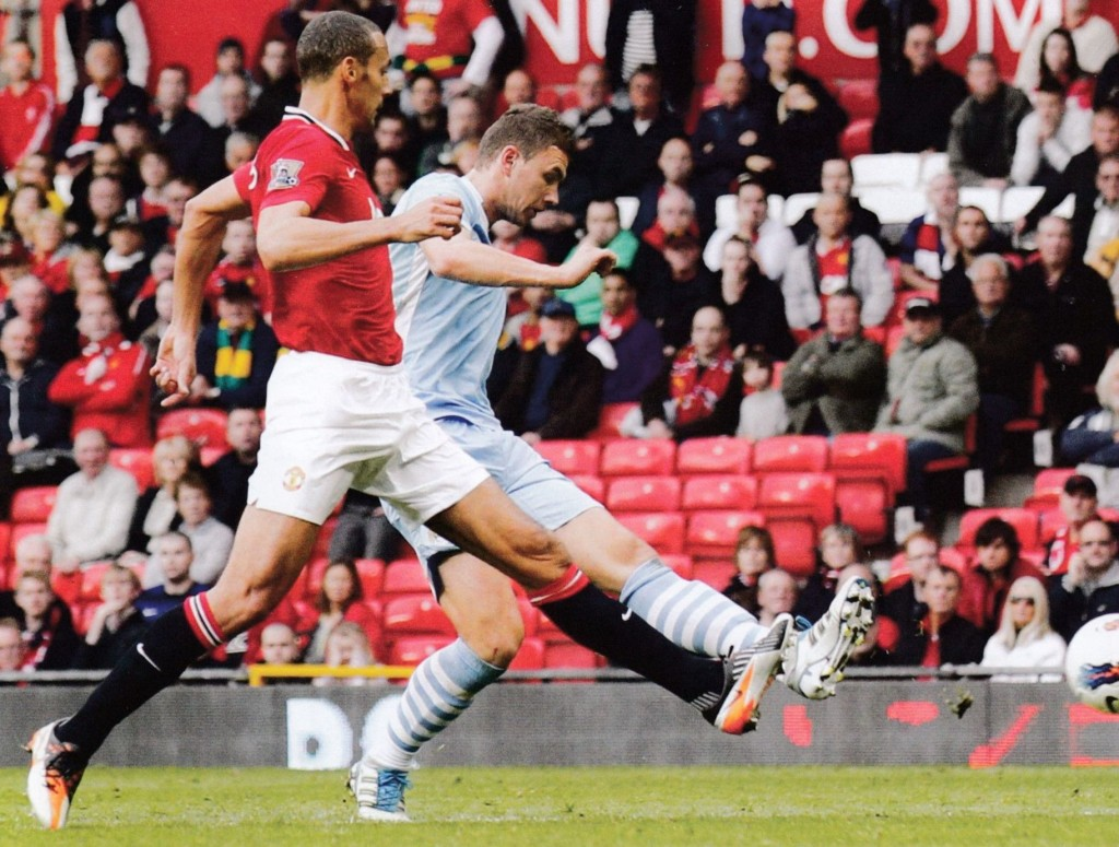 man utd away dzeko goal54