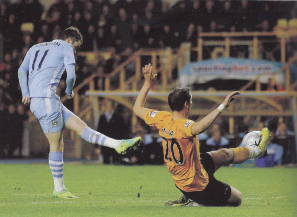wolves carling cup 2011 to 12 johnson goal62