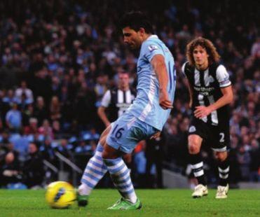 newcastle home 2011 to 12 aguero goal