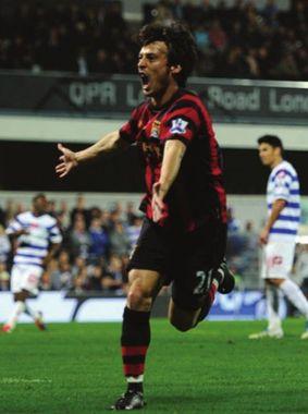 qpr away 2011 to 12 silva goal