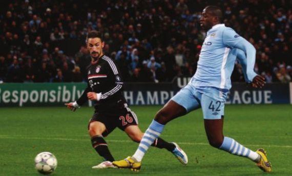 bayern munich home 2011 to 12 yaya goal