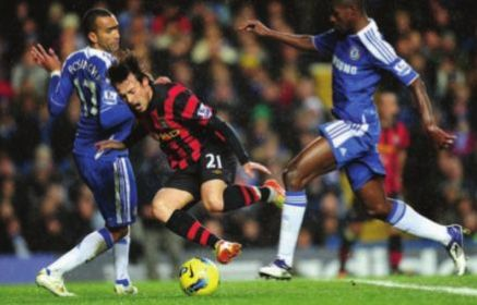 chelsea away 2011 to 12 penalty not given