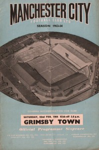 grimsby home 1963 to 64 prog