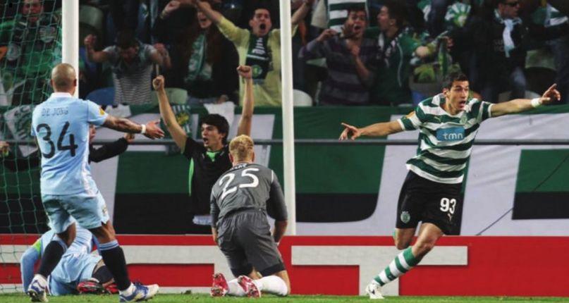 sporting lisbon away 2011 to 12 lisbon goal