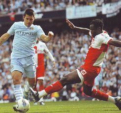 qpr home 2011 to 12 aguero goal
