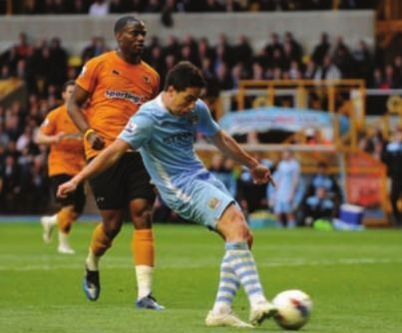 wolves away 2011 to 12 nasri goal