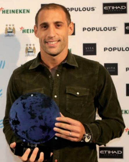 zabaleta player of the year 2012 to 13
