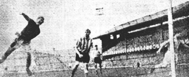 sunderland away 1954 to 55 trautmann save