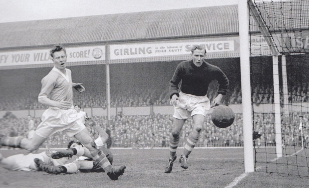 tottenham fa cup 1955 to 56 action2