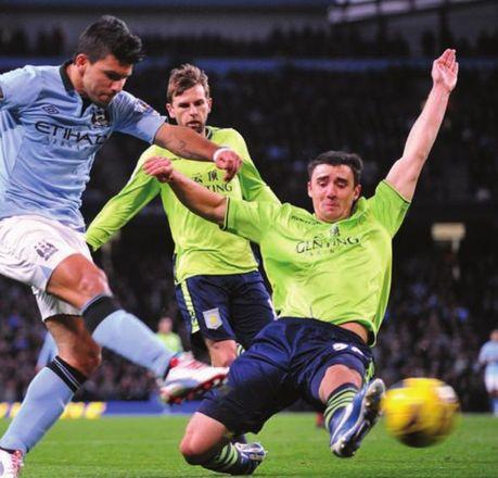 aston villa home 2012 to 13 2nd aguero goal