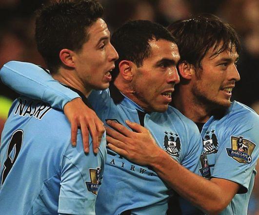 aston villa home 2012 to 13 tevez 2nd goal celeb