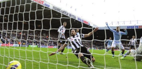 newcastle away 2012 to 13 toure goal