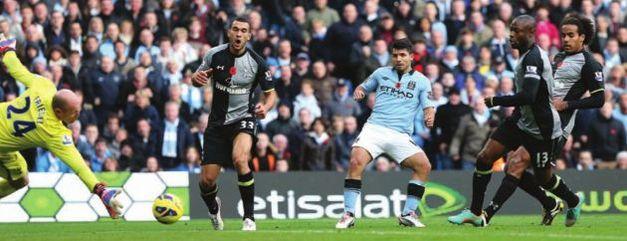 tottenham home 2012 to13 aguero goal