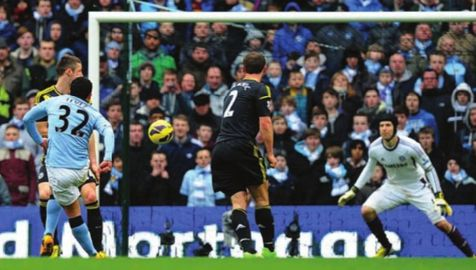 chelsea home 2012 to 13 tevez goal real