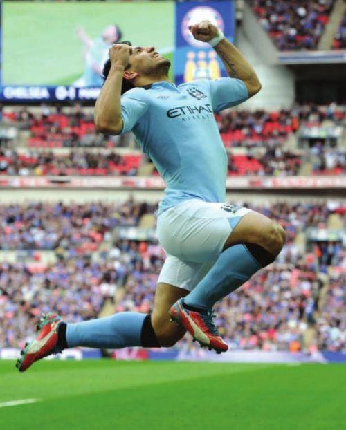 Chelsea fa cup semi 2012 to 13 aguero goal