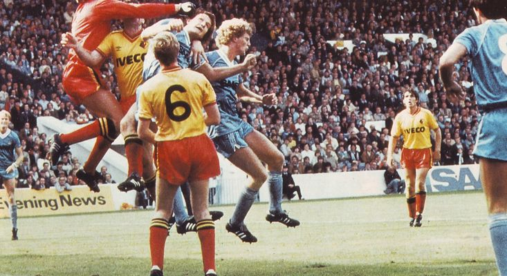 Watford Home 1982 to 83 action