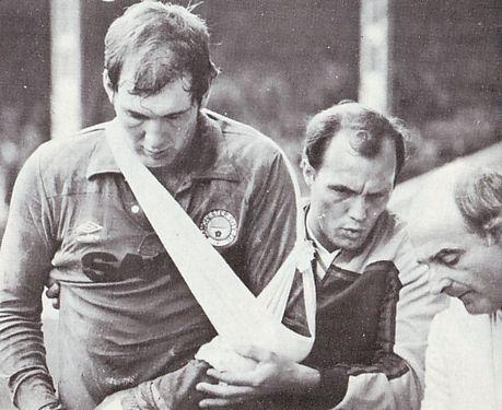 Watford Home 1982 to 83 joe injured