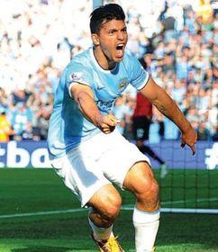 man united home 2013 to 14 aguero goal3